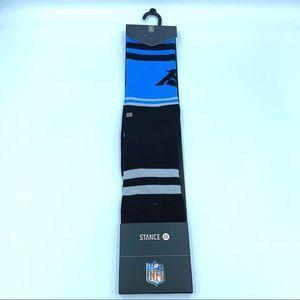New Stance NFL Carolina Panthers Crew Socks 9-12
